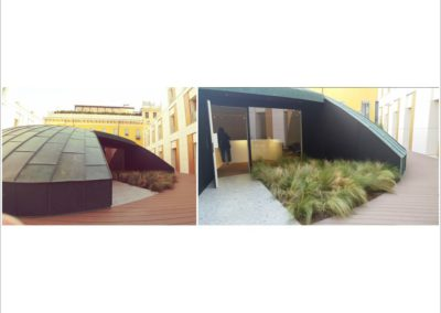 CASSINA showroom - on the roof