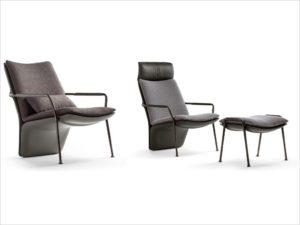 POLTRONA FRAU-Arabesque-design Kensaku Oshiro (1)