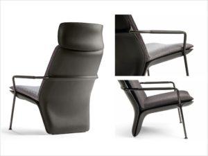 POLTRONA FRAU-Arabesque-design Kensaku Oshiro (2)